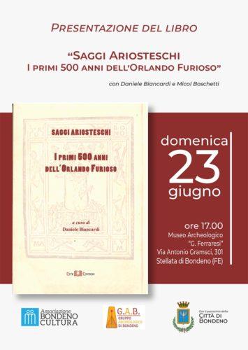 Presentazione del volume 'Saggi Ariosteschi'