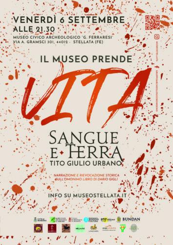 Il Museo Prende Vita – Sangue e Terra | Tito Giulio Urbano
